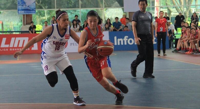 Juara LIMA Basketball, Putri UPH Sukses Lolos Fase Nasional