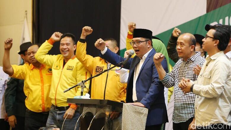 Ridwan Kamil Belum Terima Ucapan Selamat dari Asyik
