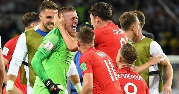 Jadi Pahlawan Inggris, Jordan Pickford Serang Balik KritikCourtois