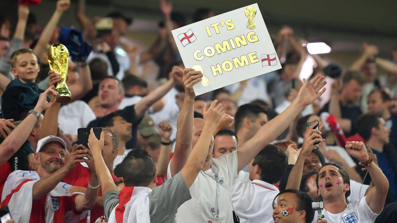 """""""Football's Coming Home"""": Begini Lagu Fans Inggris untuk Southgate"""