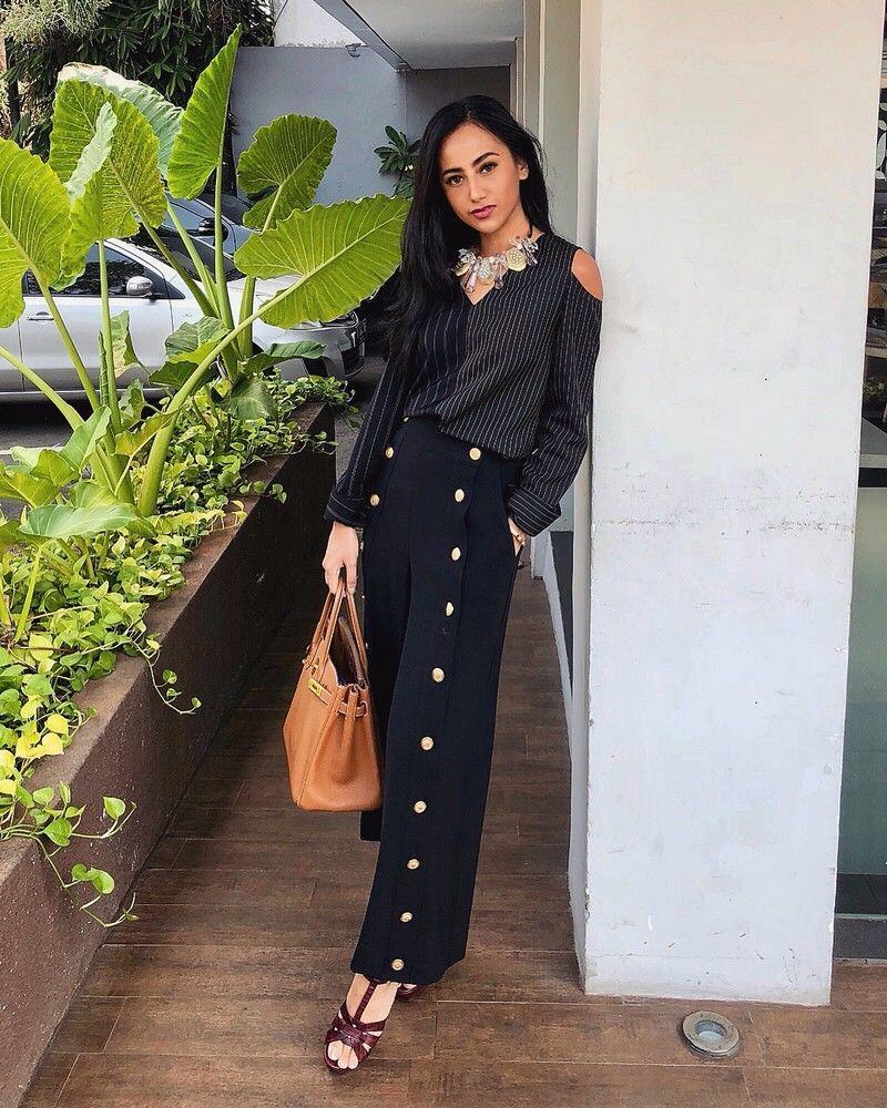 10 Gaya Chic Karina Basrewan, Puteri Indonesia Kekasih Jaz Hayat