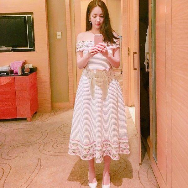 15 Gaya Kece Park Min Young, Sekretaris Ayu di Drama Why Secretary Kim