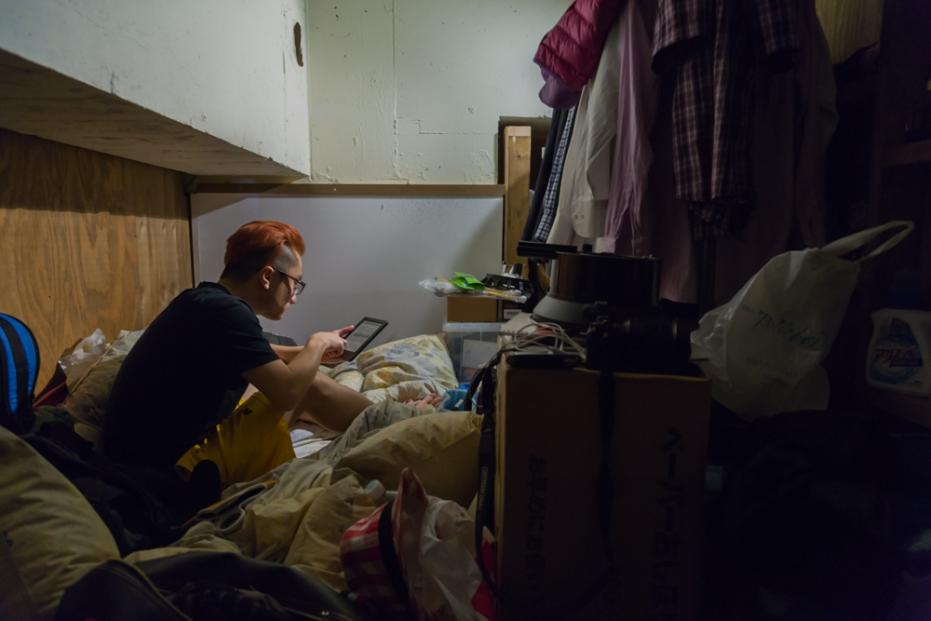 10 Potret miris hotel untuk backpacker di Jepang, berdiri aja susah