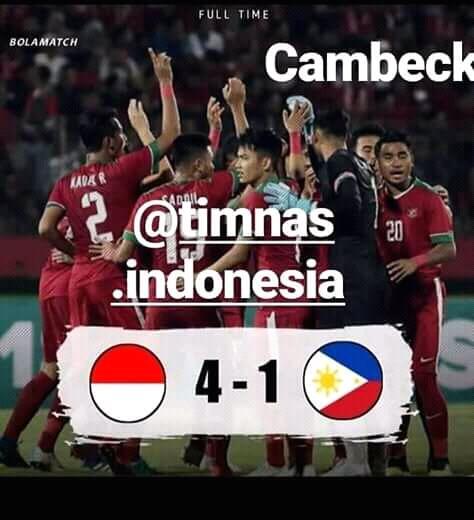 Indonesia U18 Vs Laos: Penyebab COMEBACknya Indonesia Vs Filipina