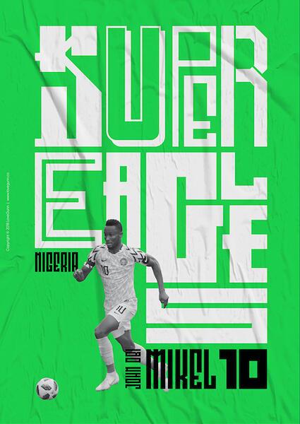 #SundulDunia   Desain Poster Kontemporer yang turut menghiasi Piala Dunia 2018!