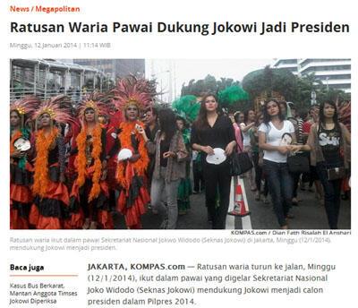 MUI Banten Tolak Pemilihan Ratu Waria di Pandeglang
