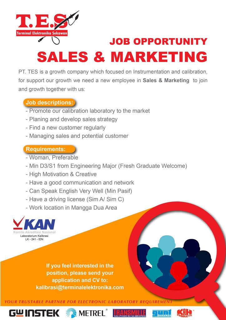 Sales & Marketing Needed