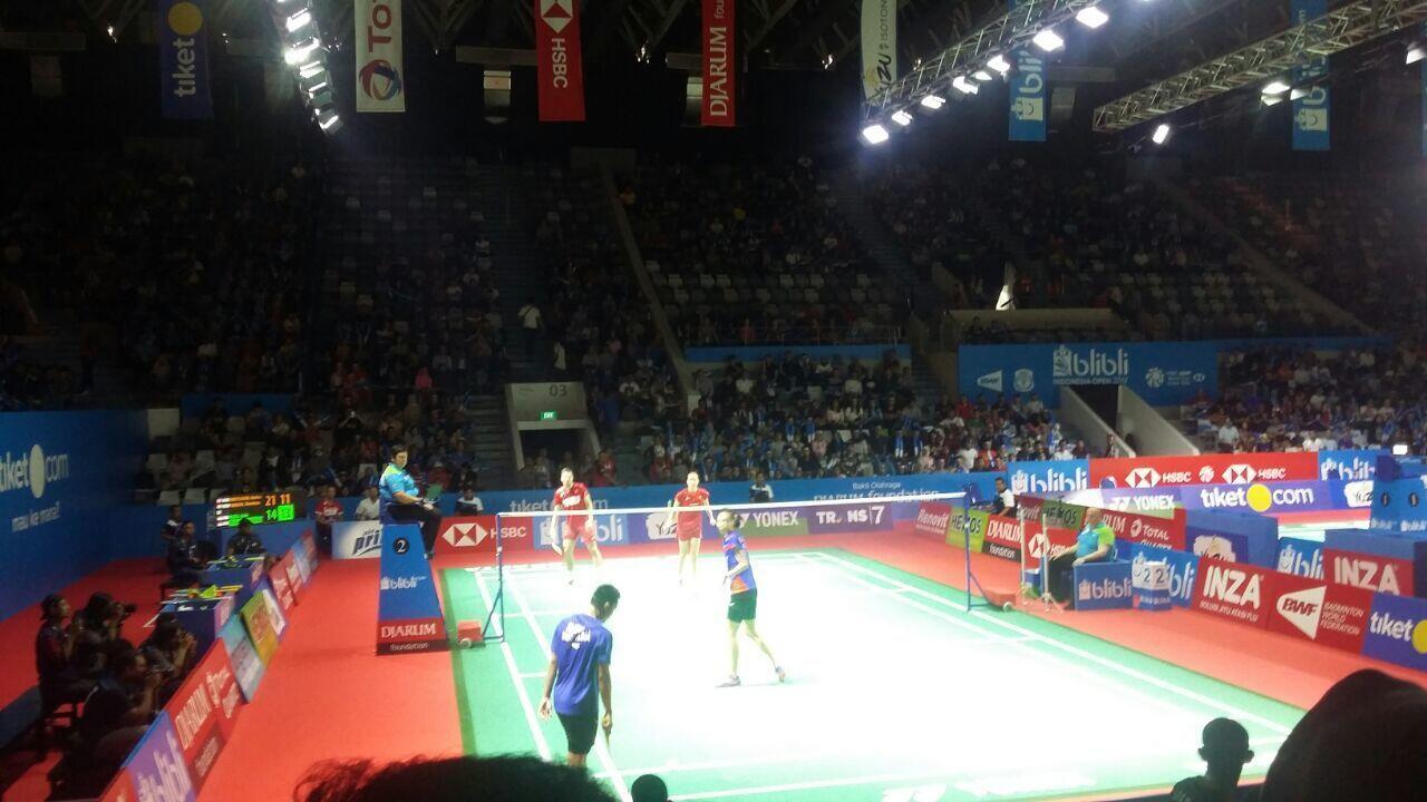 Indonesia Open: Ganda Campuran Indonesia Saling Jegal di Semifinal