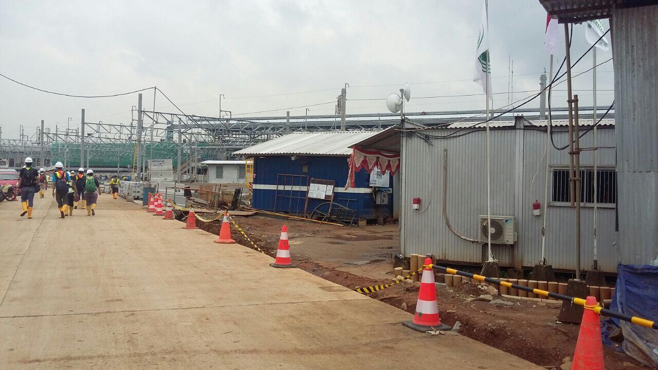 Gulungan Kabel Terbakar di MRT Labak Bulus, Rokok Diduga Penyebabnya