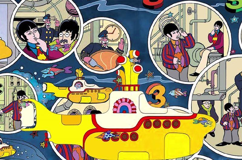 9 Hal Tentang Yellow Submarine, Film Animasi The Beatles