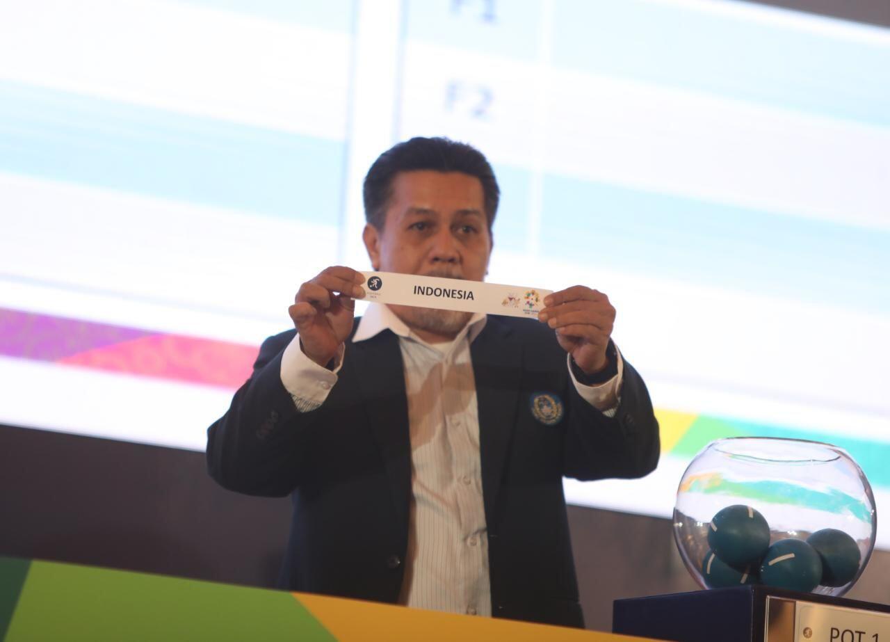 Asian Games 2018: Tim Sepak Bola Indonesia Masuk Grup Ringan