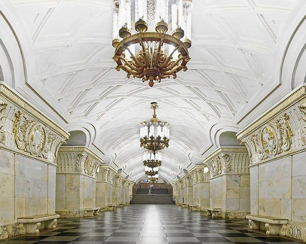 10 Potret Kemewahan Stasiun Metro Rusia, Tercantik Sedunia Lho