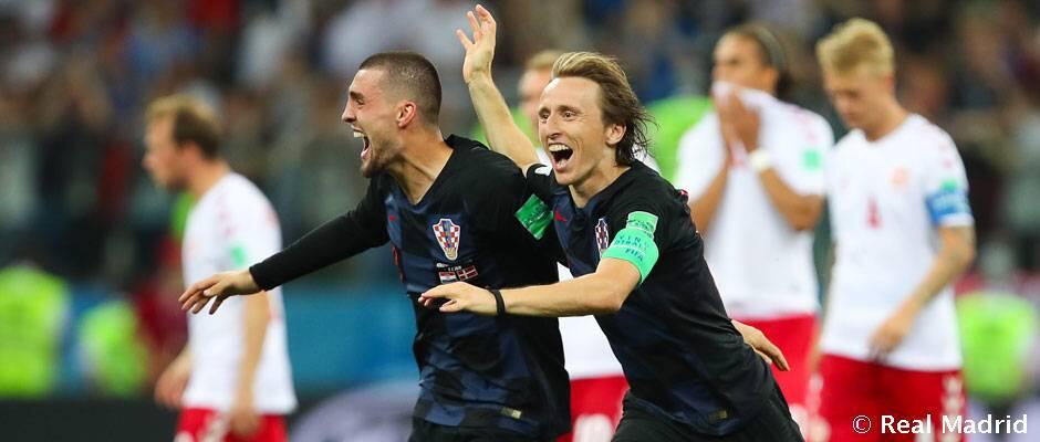 Lima madridistas di babak perempat final Piala Dunia