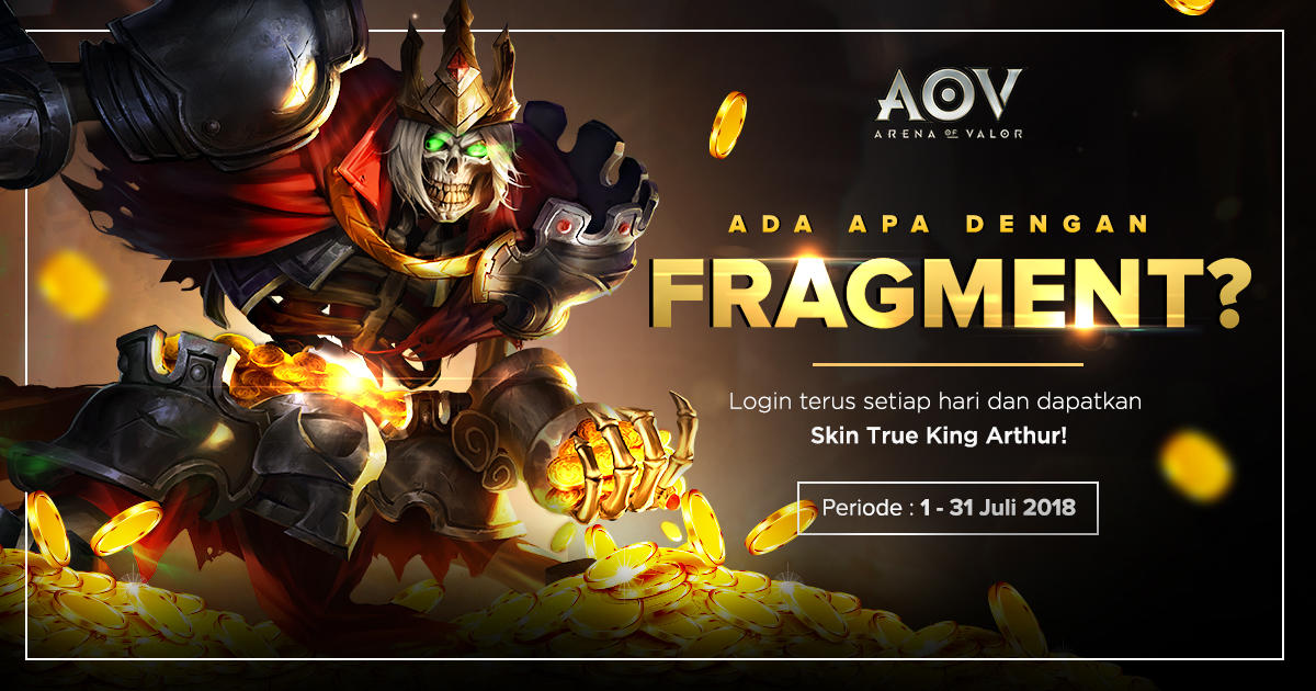[Update] Hot Event di Arena Of Valor !!! Don't Miss It !!!