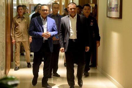 Gatot Nurmantyo Mampir di Trump Hotel
