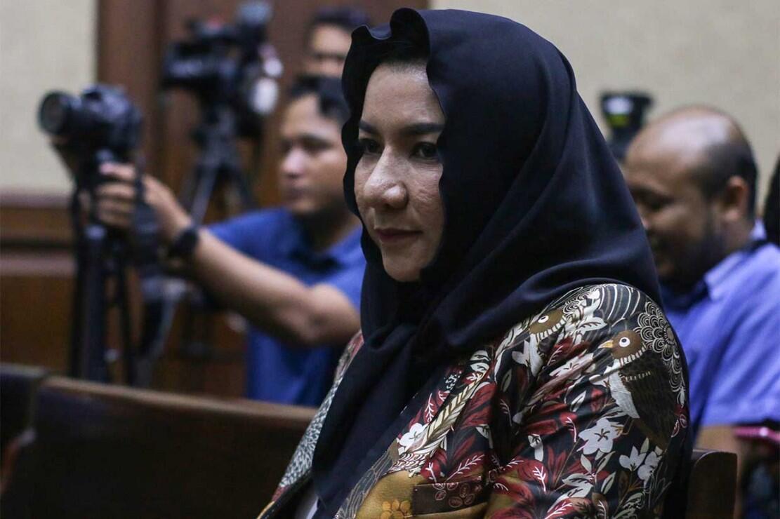 Rita Widyasari Dihukum 10 Tahun Penjara