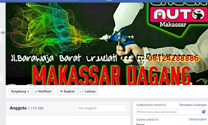 Grup FJB makassar Dagang