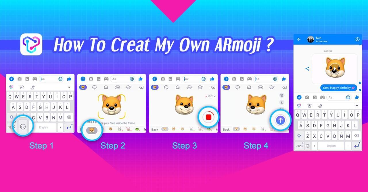 Pengguna Android Akhirnya Dapat Mengirim ARmoji Sekarang!