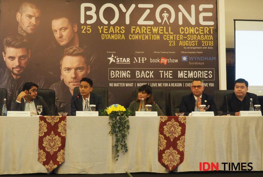 7 Alasan Mengapa Kamu Harus Nonton Konser Boyzone di Surabaya