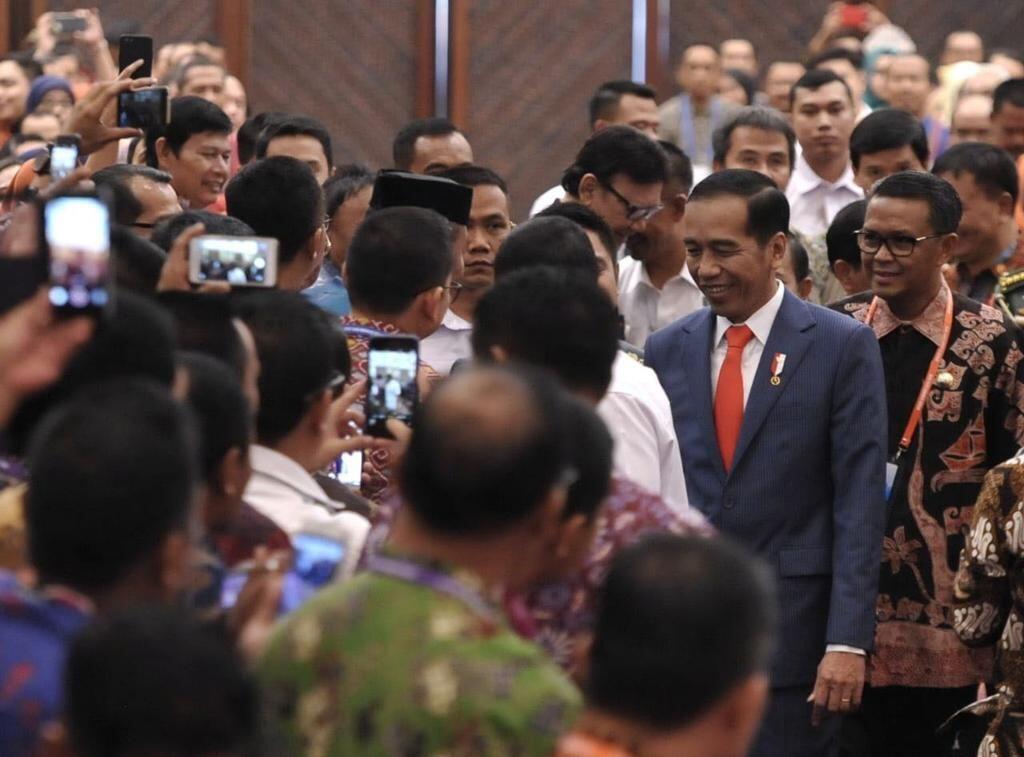 Jokowi Merasa Sedih Setiap Minggu Ada Kepala Daerah Kena OTT KPK