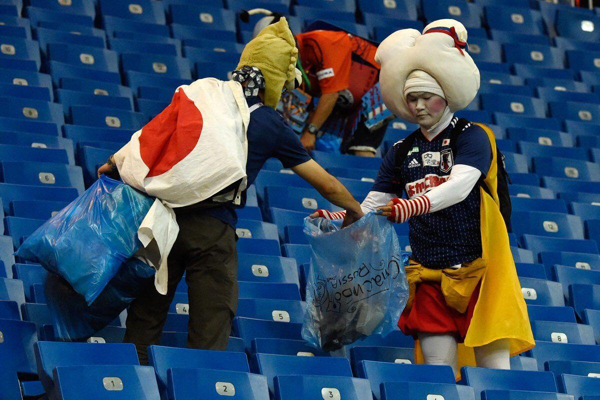 Kalah Menyakitkan, Fans Jepang Pulang dengan Respect dari Dunia