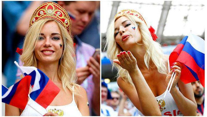 Wanita Seksi Ini Janji Bugil Bila Rusia Juara Piala Dunia