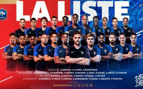 Mengagumkan Hampir Separuh Tim Inti Prancis adalah Seorang Muslim!!