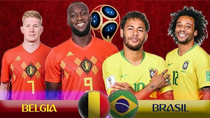 SIMAK !! PERSIAPAN PERTANDINGAN BELGIA VS BRAZIL