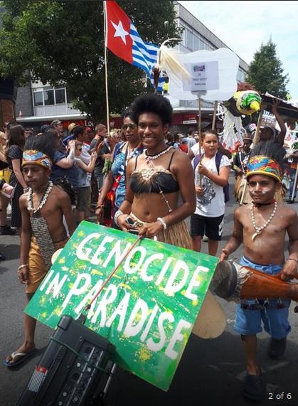 Kampanye Papua Merdeka di Oxford 1 Juli 2018