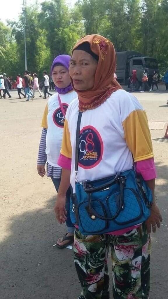 Demi Rp 100 Ribu dan Ketemu Jokowi, Lansia Ini Ikut Rembuk Aktivis '98