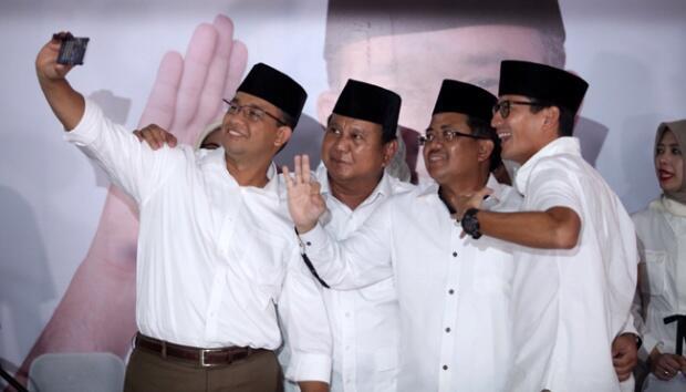 Peluang Gerindra Usung Prabowo - Anies Baswedan di Pilpres 2019
