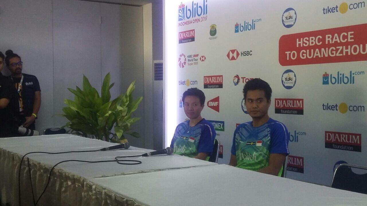Indonesia Open 2018: Melaju ke Final, Tontowi Beberkan Kelemahan Lawan