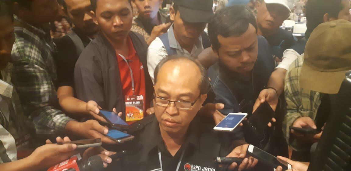 Khofifah Emil Unggul Rekapitulasi KPU Jatim
