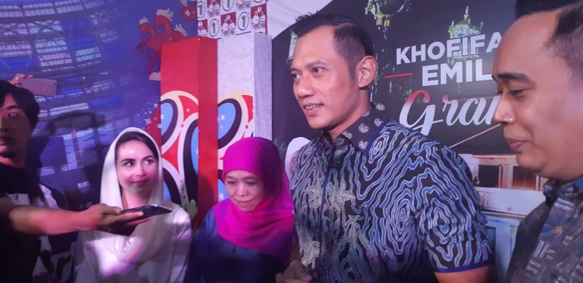Disandingkan Dengan AHY, Prabowo: Masih Wacana