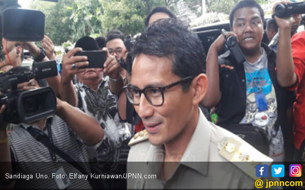 Prabowo Perintahkan Sandi Dekati PDIP demi Pilpres 2019