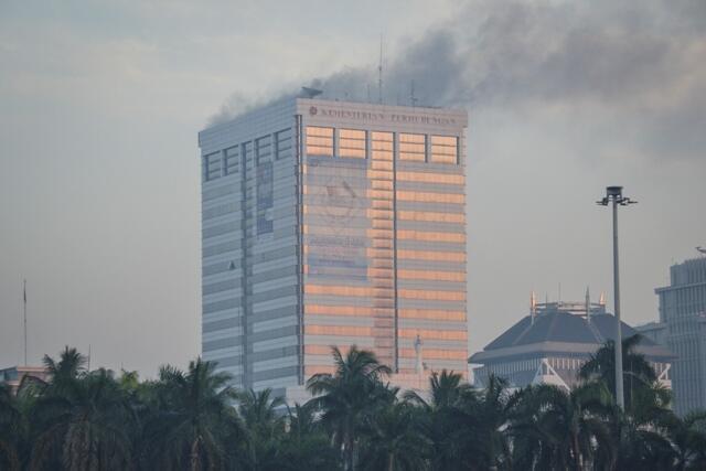Kemenhub Tanggung Biaya Korban Kebakaran