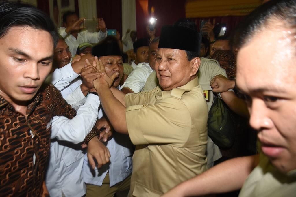 Prabowo akan Rembukan Posisi Cawapres dengan PAN dan PKS