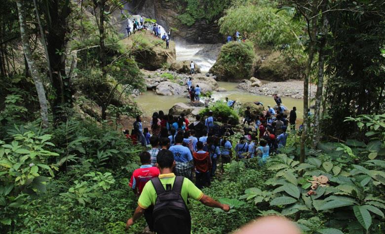 Pemuda Buddhis Temanggung Terus Bergerak, Kali Ini ke Gunungpayung