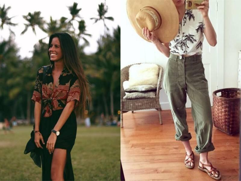 Dress Code Wajib Saat Liburan Adalah Kemeja Hawaii. Summer Vibes-nya Dapet Banget!