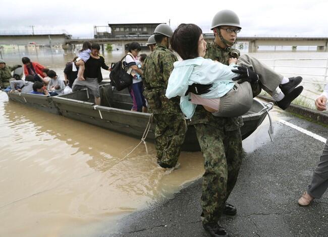 Banjir Landa Jepang, 49 Orang Tewas dan 48 Hilang