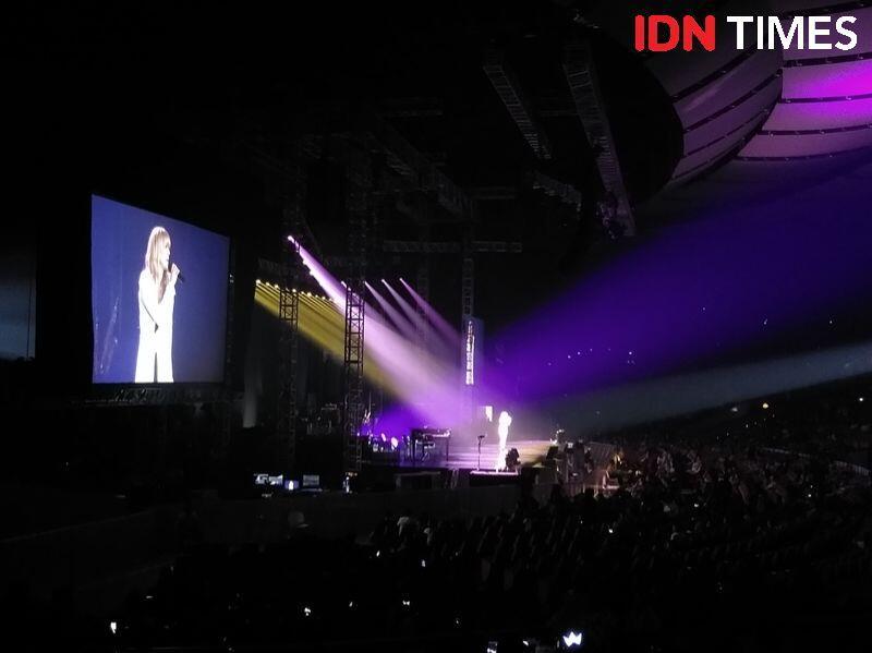 Konser di Jakarta, Celine Dion Sukses Buat Penonton Susah Move On