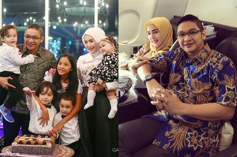7 Tahun Menikah, Ini 10 Potret Bahagia Keluarga Pasha & Adel