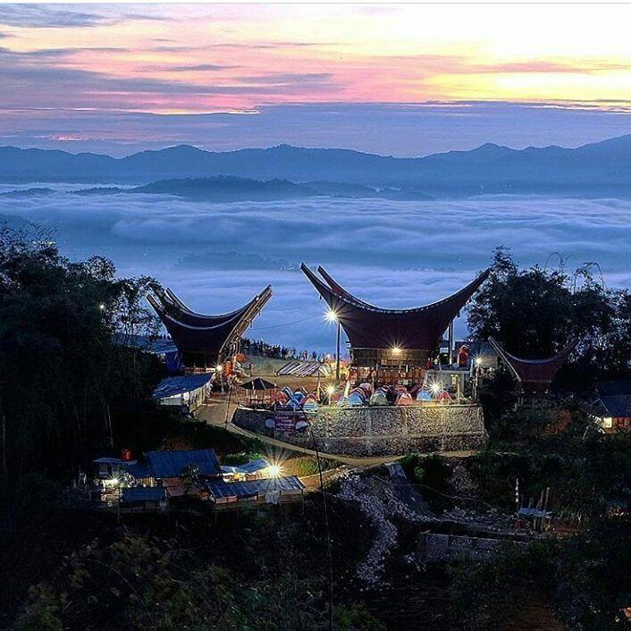 8 Potret Menakjubkan Kampung Lolai, Negeri di Atas Awan Milik Toraja