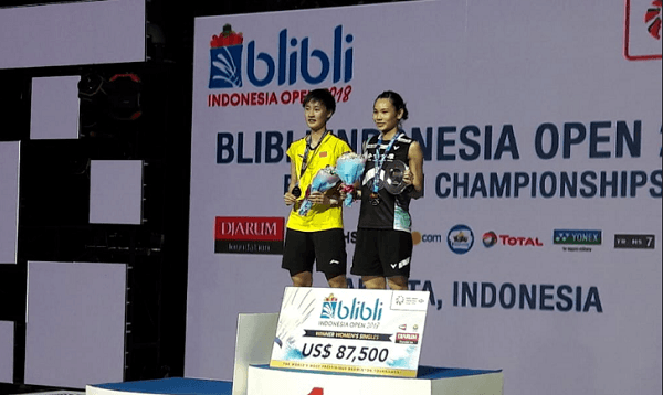 Review Babak Final Indonesia Open 2018, Indonesia Sabet 2 Gelar