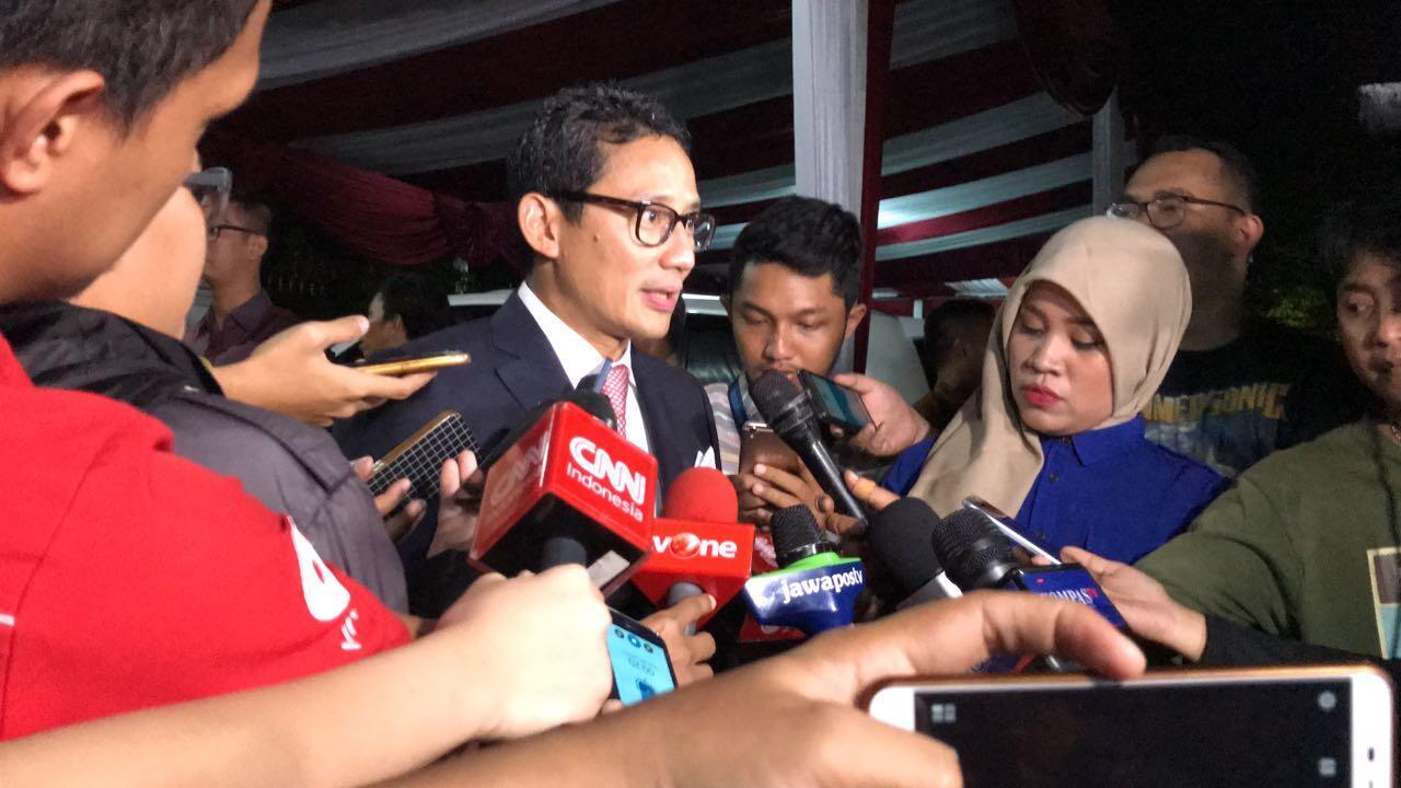 Wagub Sandiaga Soroti Akses Keamanan Gedung Kemenhub