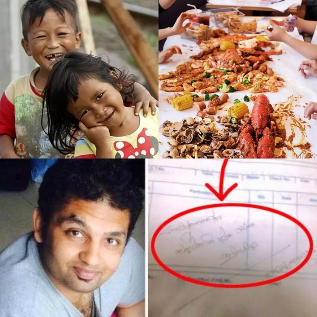 Traktir Anak Gelandangan Makan Sepuasnya di Hotel Mewah,Pemuda Ini Kaget Lhat Tagihan