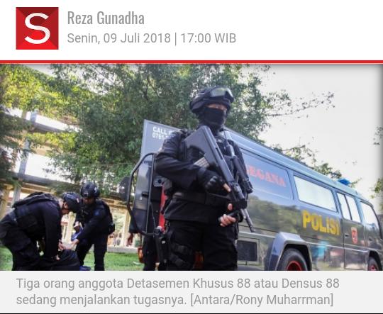 Lagi di Mobil, 2 Istri Teroris Bekasi Digarap Densus 88