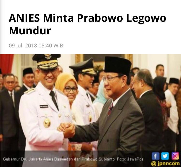 """""""Prabowo Tak Lagi Dominan, Anies Merasa Sangat Percaya Diri Ikuti Jejak Jokowi"""""""