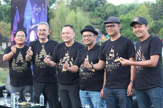 Komponis legendaris Yanni hadir di Prambanan, Indonesia