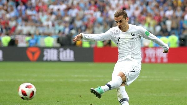 Top Player of the Match Uruguay vs Prancis: Antoine Griezmann